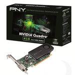 512 Mo DVI/DisplayPort - PCI Express (NVIDIA Quadro 410)