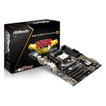 Carte mère ATX Socket FM2 AMD A85X (Hudson D4) - SATA 6Gb/s - USB 3.0 - 3x PCI Express 2.0 16x