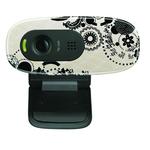 Webcam HD 720p avec microphone intégré et compatible Facebook/Skype/MSN