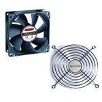 Ventilateur silencieux 80mm + Grille de ventilateur 80mm