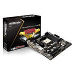 Carte mère Micro-ATX Socket FM2 AMD A85X (Hudson D4) - SATA 6Gb/s - USB 3.0 - 2x PCI Express 2.0 16x