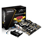 Carte mère E-ATX Socket 1155 Intel Z77 Express - SATA 6Gb/s - USB 3.0 - BT/Wi-Fi - 3x PCI-Express 3.0 16x + 1x PCI-Express 2.0 16x