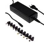 Chargeur secteur universel 120 watts avec sélection automatique de la tension