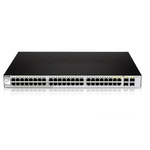 Smart switch 48 ports Gigabit cuivre + 4 ports Combo SFP