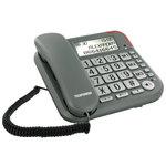 Téléphone filaire à grosses touches