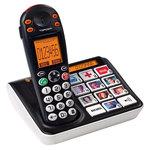 Téléphone DECT sans fil avec touches Photos (version française)