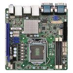 Carte mère Mini ITX Socket 1155 Intel Q77 Express - SATA 6Gb/s - USB 3.0 - 1x PCI-Express 3.0 16x