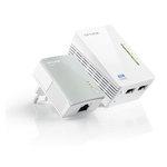 Adaptateur CPL 500 Mbps + adaptateur CPL Wi-Fi N 300 Mbps 2 ports