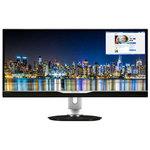 2560 x 1080 pixels - 5 ms - Format large 21/9 - Dalle IPS - Pivot - DisplayPort - Hub USB - Noir
