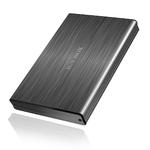 """Boîtier pour disque 2.5"""" Serial ATA sur ports USB 3.0/eSATA (Noir)"""