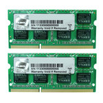 Kit Dual Channel RAM SO-DIMM DDR3 PC3-10600 - F3-1333C9D-8GSL (garantie à vie par G.Skill)