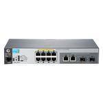 Switch admnistrable 8 ports PoE+ 10/100 + 2 ports combo Gigabit SFP