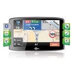 """GPS 14 pays d'Europe Ecran 5.0"""" avec Guide du routard, TMC et mise à jour à vie - Bonne affaire (article utilisé, garantie 2 mois)"""