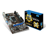 Carte mère Micro ATX Socket 1150 Intel H81 Express - SATA 3Gb/s et SATA 6Gb/s - USB 3.0 - 1x PCI-Express 2.0 16x