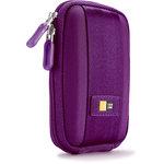 Étui semi-rigide pour appareil photo compact (coloris violet)