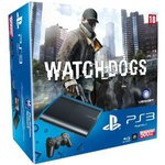 Console Playstation 3 Ultra Slim 500 Go + le jeu Watch Dogs