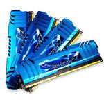 Kit Quad Channel DDR3 PC3-19200 - F3-2400C11Q-32GZM - (garantie à vie par G.Skill)