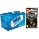 Console PSP Street (coloris Blanc) + Ratchet & Clank : La taille ça compte