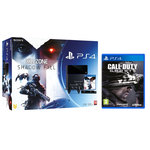 Console PlayStation 4 500 Go + Killzone Shadow Fall + Camera + Deux Manettes Dual Shock 4 + Call Of Duty : Ghosts