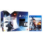 Console PlayStation 4 500 Go + Killzone Shadow Fall + Camera + Deux Manettes Dual Shock 4 + Battlefield 4