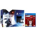 Console PlayStation 4 500 Go + Killzone Shadow Fall + Camera + Deux Manettes Dual Shock 4 + NBA 2K14