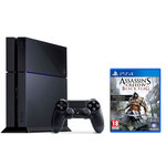Console PlayStation 4 500 Go + Une Manette Dual Shock 4 + Assassin's Creed IV : Black Flag