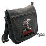 "Abystyle Sac Besace ""Combat de Lara"" Tomb Raider Petit Format"