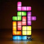 Lampe rétro Tetris à construire