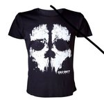 """Abystyle Tshirt """"Foil Ghost"""" Call Of Duty Ghosts Taille L"""