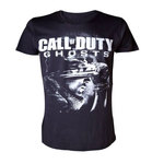 """Abystyle Tshirt """"Soldat & Logo"""" Call Of Duty Ghosts Taille S"""