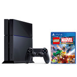Console PlayStation 4 500 Go + Une Manette Dual Shock 4 + LEGO Marvel Super Heroes