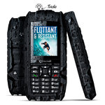 "Téléphone 2G Dual SIM IP68 - Ecran 2.2"" - Bluetooth - 650 mAh"