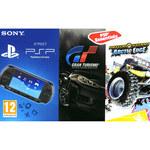Console PSP (coloris noir) + Gran Turismo + MotorStorm : Artic Edge