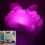 Abysse Corp Lampe à variation de couleurs Space Invaders