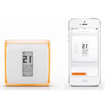 Thermostat intelligent connecté pour smartphone by Starck