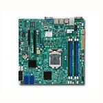 Carte mère Micro ATX Socket 1150 Intel C222 Aspeed AST2400 - 4x SATA 3Gb/s + 2x SATA 6Gb/s - 8x SAS 2.0 6Gb/s - 1x PCI Express 3.0 8x - 2 x Gigabit LAN