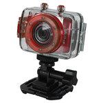 Caméscope numérique HD Waterproof 10m carte mémoire et kit de fixations