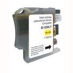 Cartouche d'encre jaune compatible Brother LC125XL-Y