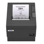 Imprimante de tickets thermique (coloris noir) + alimentation