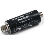 Filtre 4G/LTE à fiche F Mâle/Femelle