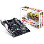 Carte mère ATX Socket AM3+ AMD 970 - SATA 6 Gbps - USB 3.0 - 2x PCI-Express 2.0 16x
