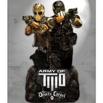 Play Arts Figurine Army of Two : le cartel du diable - Alpha et Bravo - Buste polystone 13 cm