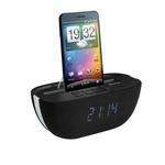 Radio réveil FM Bluetooth et dock pour téléphone