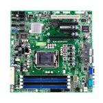 Carte mère Micro ATX Socket 1155 Intel C202 - SATA 3Gb/s - 1x PCI Express 3.0 16x - 2x Gigabit LAN