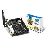 Carte mère Mini-ITX Socket 1150 Intel Z87 Express - SATA 6Gb/s - USB 3.0 - 1x PCI-Express 3.0 16x - Wi-Fi AC, Bluetooth 4.0