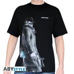 """Abystyle T-shirt """"Aiden"""" Watch Dogs Taille L"""