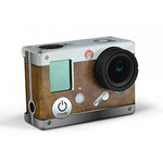 Stickers seconde peau retro cuir pour caméra GoPro Hero3