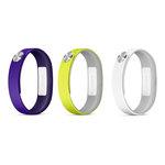 Lot de 3 bracelets de taille L pour Sony SmartBand