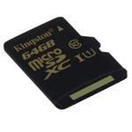 MicroSDXC 64 Go High Capacity Class 10 (garantie à vie par Kingston)