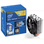 Processeur Dual Core Socket 1150 Cache L3 3 Mo Intel HD Graphics 0.022 micron + ventilateur Be Quiet! (version boîte - garantie Intel 3 ans)